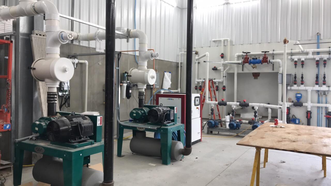 Marrs Equipment room